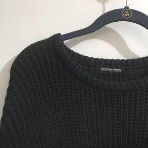 American Apparel Navy Sweater Sz XL